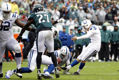 Colts Eagles Football