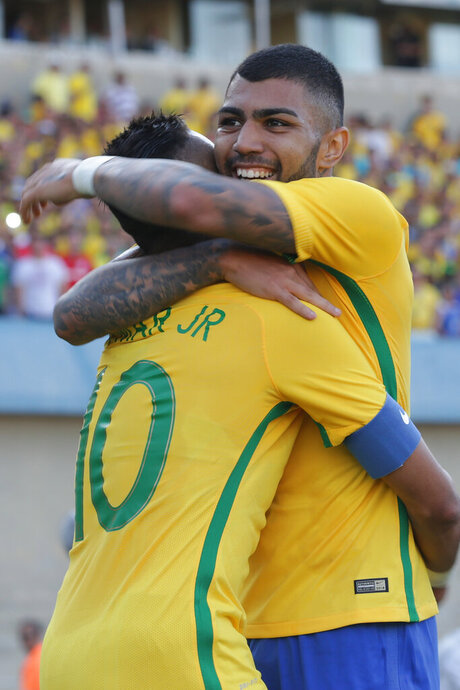 Gabriel Barbosa, Neymar