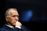 Sen. Thom Tillis, R-N.C., attends a Senate Judiciary Committee business meeting to consider authorization for subpoenas relating to the Crossfire Hurricane investigation, and other matters on Capitol Hill in Washington, Thursday, June 11, 2020. (Erin Schaff/The New York Times via AP, Pool)