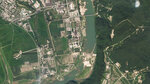 In this satellite photo released by Planet Labs Inc., North Korea's main nuclear complex is seen in Yongbyon, North Korea, just north of the capital, Pyongyang, July 27, 2021. North Korea appears to have restarted the operation of its main nuclear reactor used to produce weapons fuels, the U.N. atomic agency said, as the North openly threatens to enlarge its nuclear arsenal amid long-dormant nuclear diplomacy with the United States. (Planet Labs Inc. via AP)