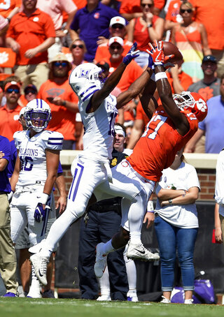 APTOPIX Furman Clemson Football