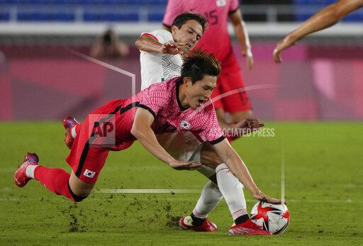 APTOPIX Tokyo Olympics Soccer