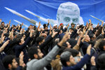 Protesters demonstrate in Tehran, Iran, on Saturday, Jan. 4, 2020, against the U.S. airstrike in Iraq that killed Iranian Revolutionary Guard Gen. Qassem Soleimani. (AP Photo/Ebrahim Noroozi)