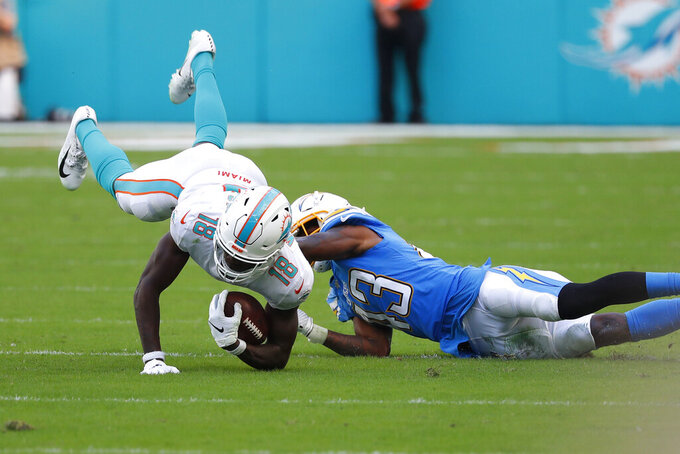 Another 2nd-half collapse by Dolphins in loss to Chargers