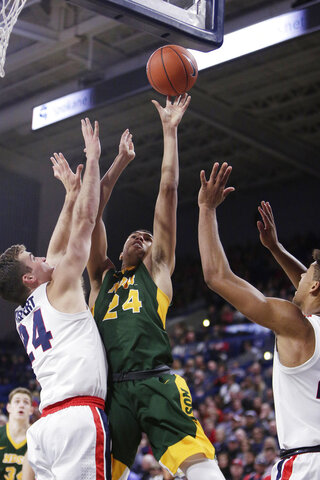 North Dakota St Gonzaga Basketball
