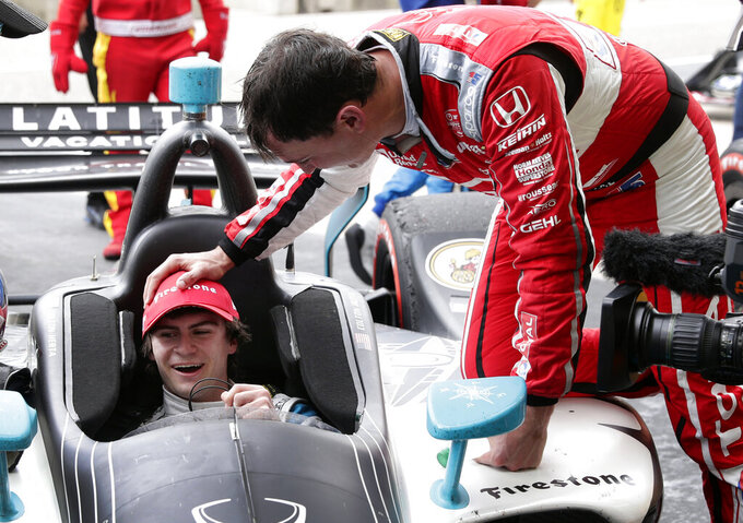 Herta exceeding rookie hopes as IndyCar's youngest winner