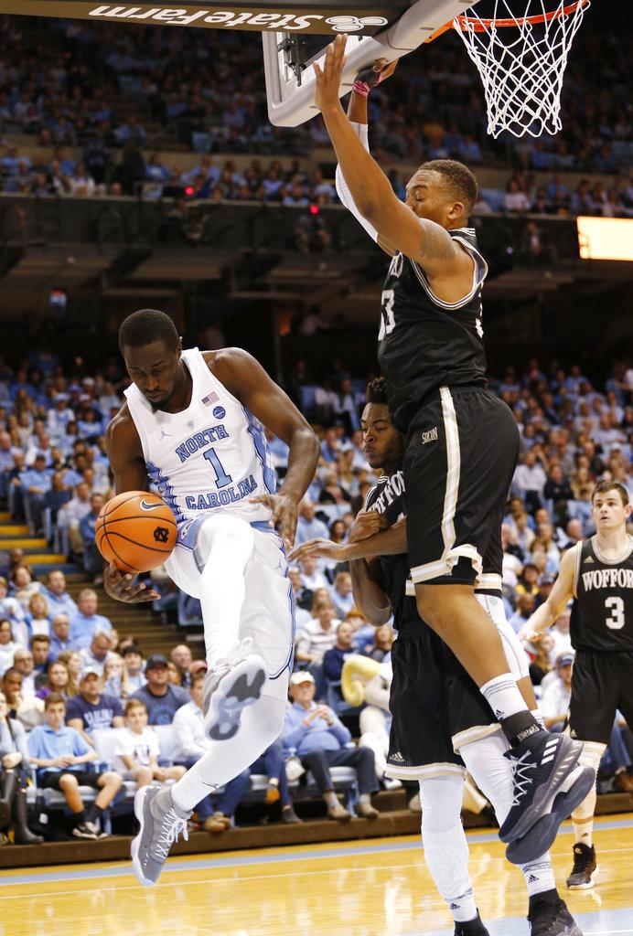 Wofford North Carolina Basketball