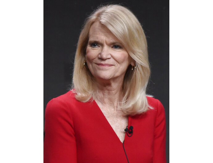FILE - Journalist Martha Raddatz participates in