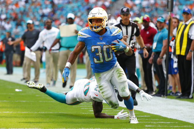 Long time coming: Rivers, Chargers beat Dolphins, 30-10