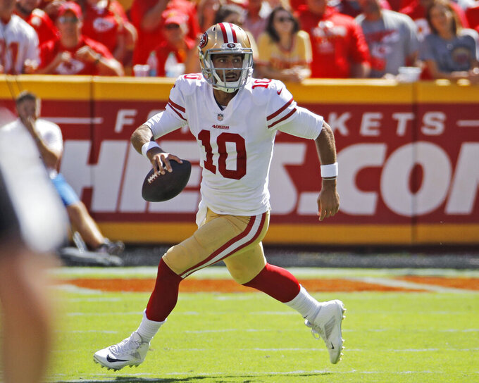 Garoppolo recovering well from major left knee injury