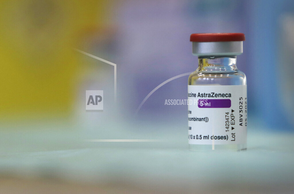 Virus Outbreak Britain Vaccine