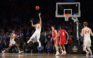 NCAA Wisconsin Florida Basketball