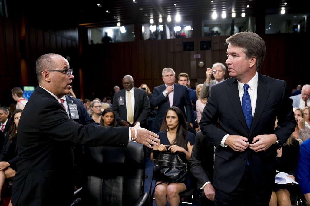 Trump administration withholds 100K Kavanaugh pages
