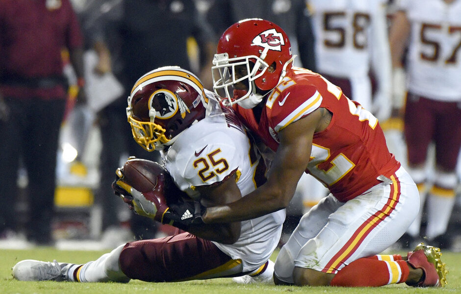 Marcus Peters, Chris Thompson