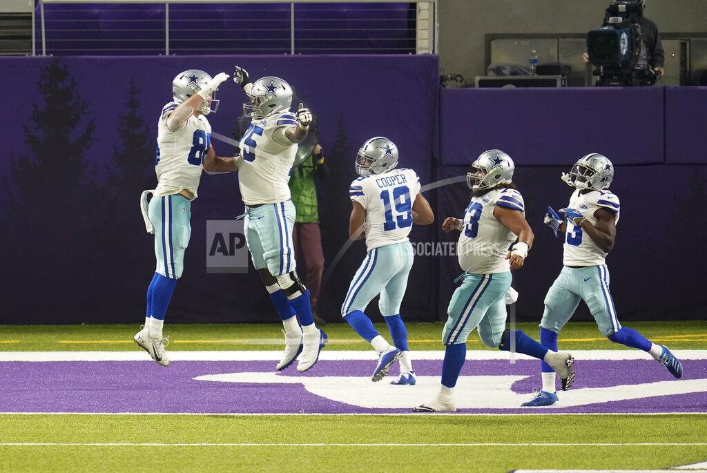 Cowboys Vikings Football