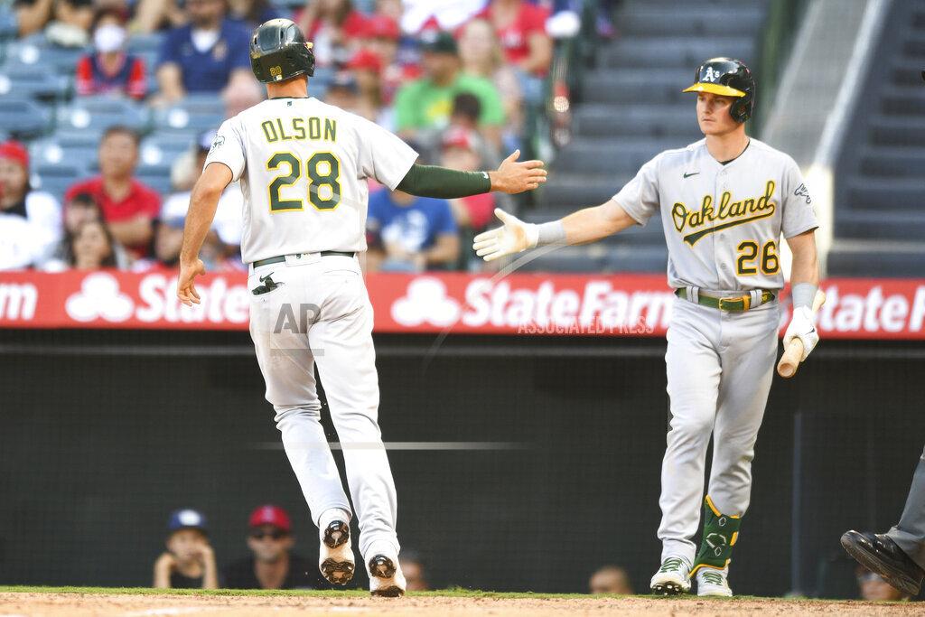MLB: SEP 19 Athletics at Angels