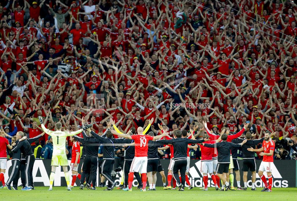 APTOPIX Soccer Euro 2016 Wales Belgium