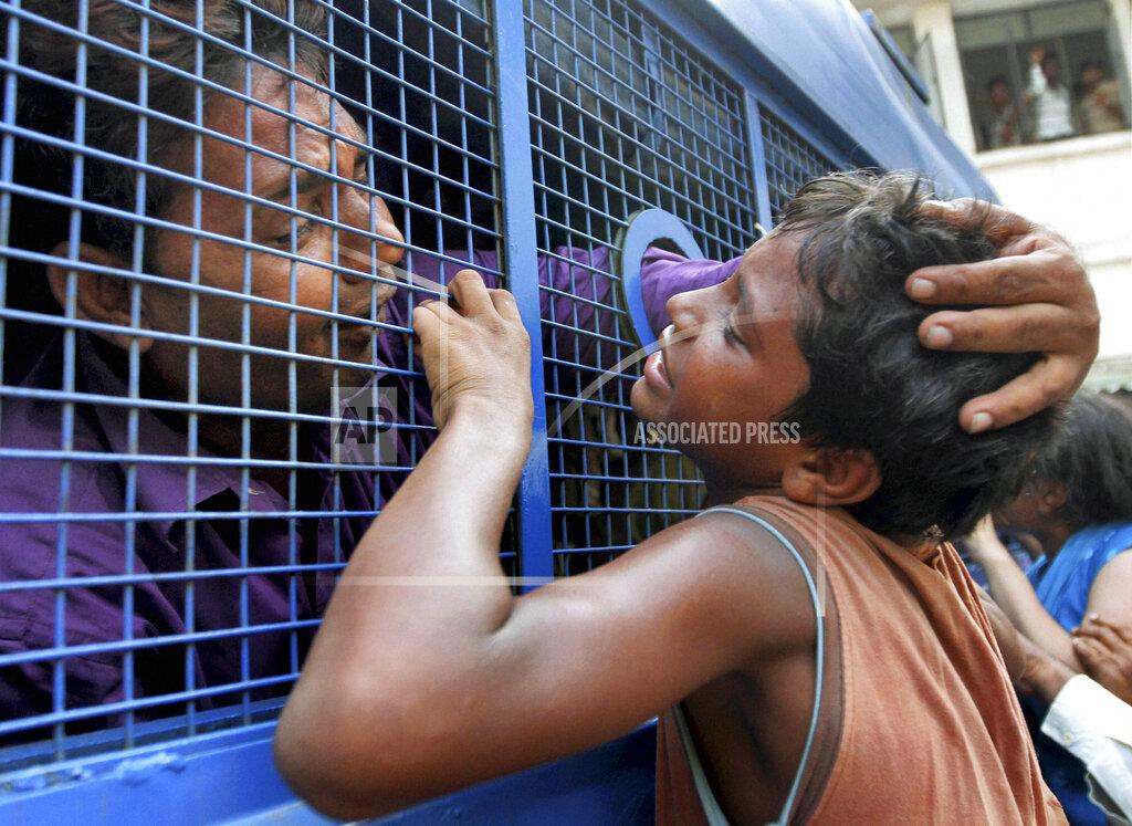 APTOPIX India Religious Riots
