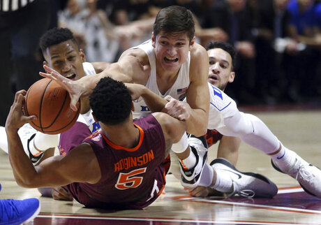 Duke Virginia Tech Basketball