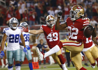 APTOPIX Cowboys 49ers Football