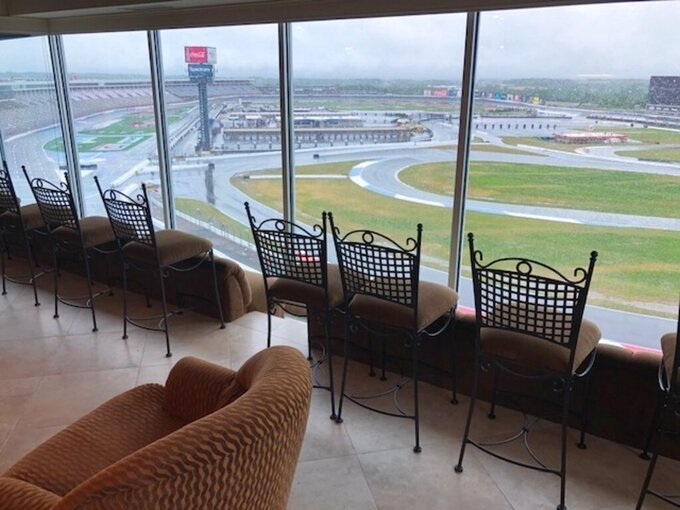 Best seats at the track: Race viewing from comfort of condo
