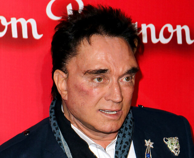 FILE - In this Feb. 18, 2012, file photo, Roy Horn, of Siegfried & Roy, arrives at the Keep Memory Alive 16th Annual