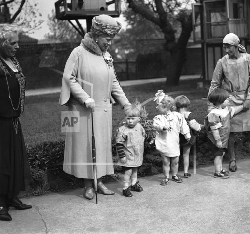 England Queen Mary at Nursery