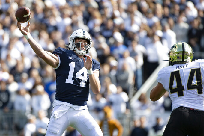 Clifford, No. 10 Penn State host 17th-ranked Iowa