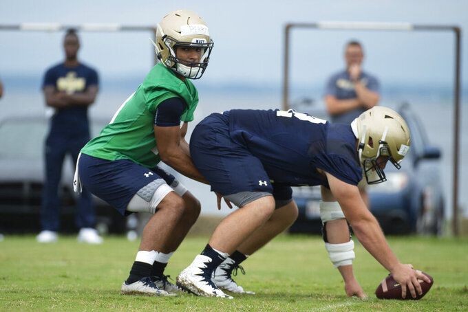 Niumatalolo, retooled Navy look for bounce-back season