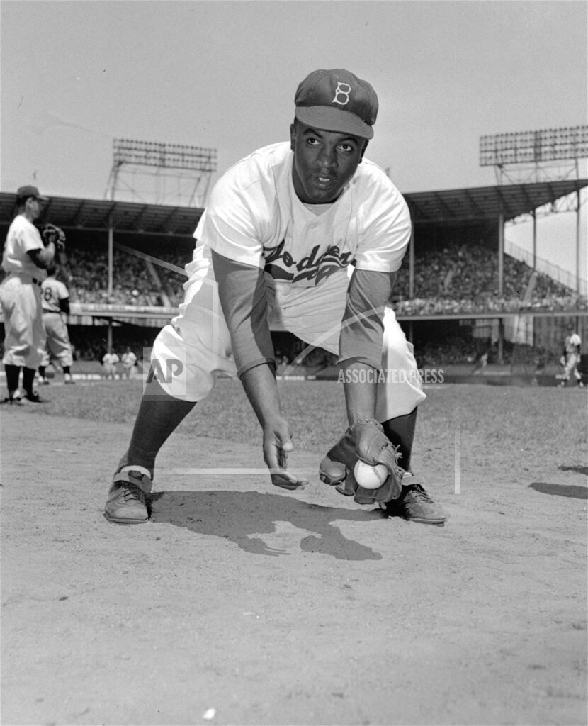 Associated Press Sports United States Professional baseball (National League) BROOKYN DODGERS ROBINSON