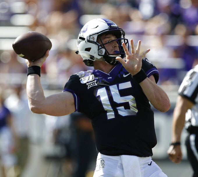 TCU visits Iowa State in key early Big 12 showdown