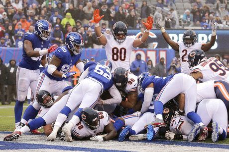 Bears Giants Football
