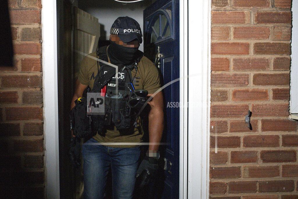 NCA raid Birmingham