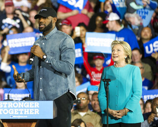 LeBron James, Hillary Clinton