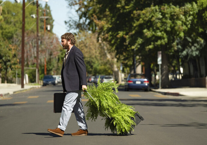 This image released by Netflix shows Zach Galifianakis in