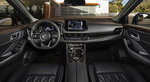 This photo provided by Nissan shows part of the interior of the 2021 Nissan Rogue. (Courtesy of Nissan via AP)