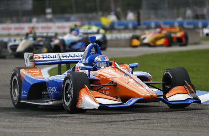 New Zealand honor for 5-time IndyCar champion Scott Dixon