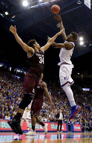 Texas A M Kansas Basketball