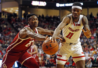Oklahoma Texas Tech Basketball