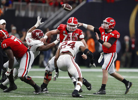 Playoff Championship Georgia Alabama Football
