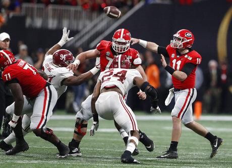 Playoff Championship Georgia Alabama Football