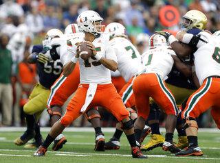 Miami Notre Dame Football