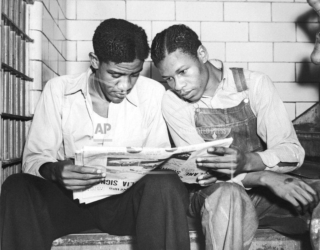 Watchf AP A  AL USA APHS440881 Clarence Norris and Charlie Weems