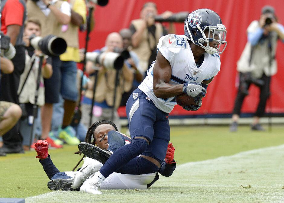APTOPIX Texans Titans Football