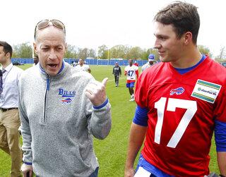 Bills Rookie Camp Football
