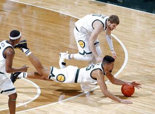 Maryland Michigan St Basketball