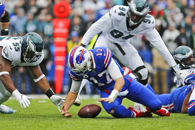 Philadelphia Eagles at Buffalo Bills 10/27/2019