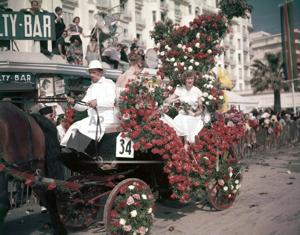 Watchf AP I   FRA APHS302942 Cannes Flower Festival 1956