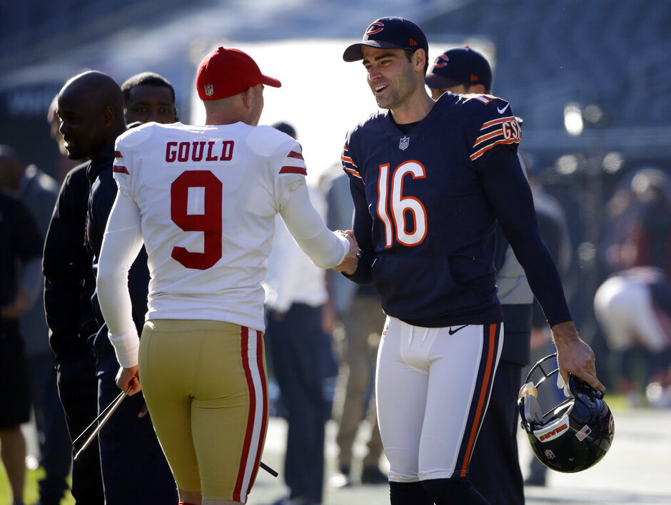 Robbie Gould, Pat O'Donnell