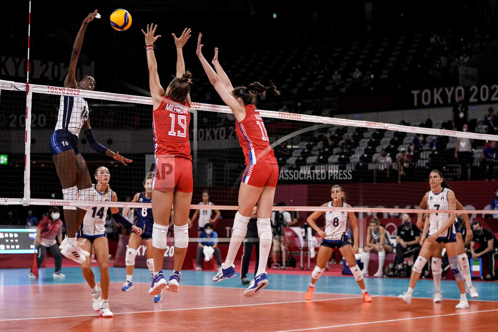 Tokyo Olympics Volleyball